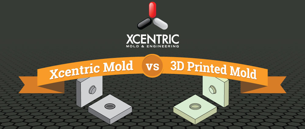 Xcentric Mold vs. 3D Printed Mold